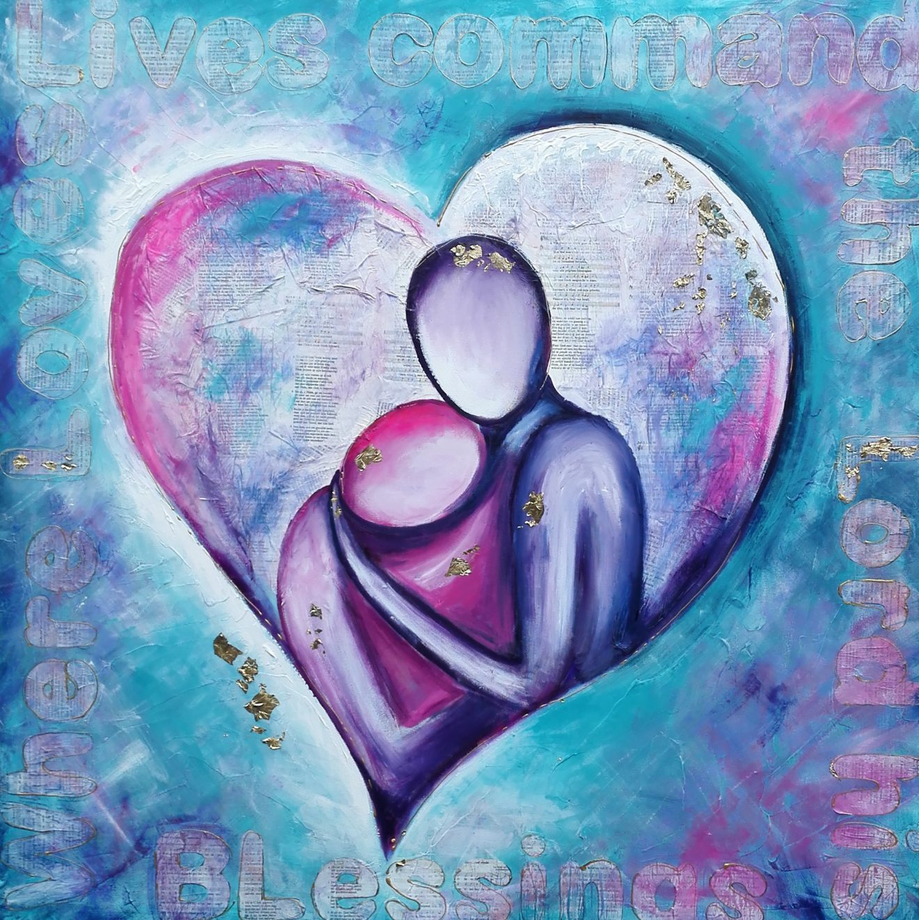Waar liefde woont gebiedt de Heer Zijn Zegen