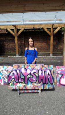 Graffiti kinderfeestje