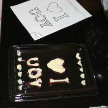 chocoladeschilderijtje maken