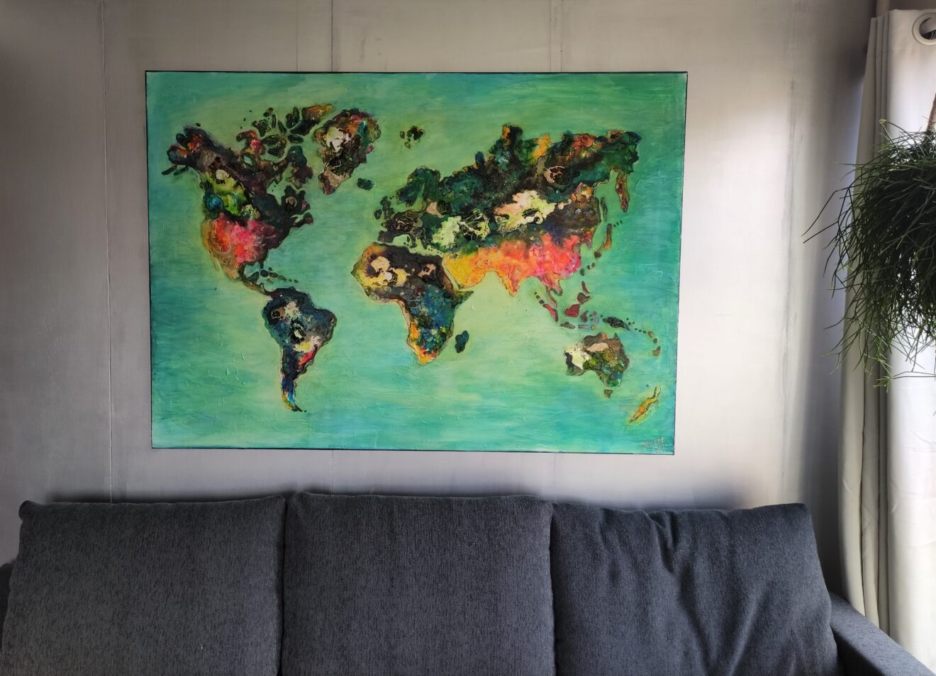 wereldkaart boven bank (2)